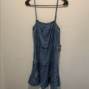 """Denim"" dress from express"